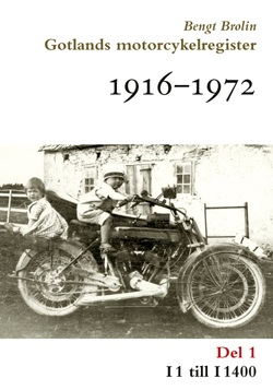 Gotlands motorcykelregister 1916-1972, del 1